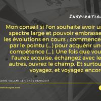 Cedric Villani, Le Monde 03/01/2017